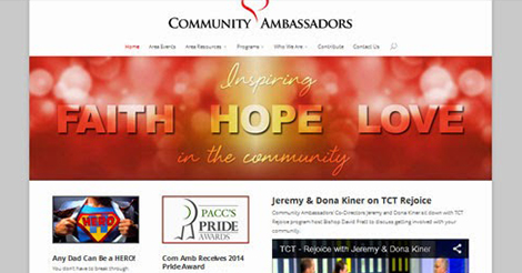 Community Ambassadors Gets a New Website!